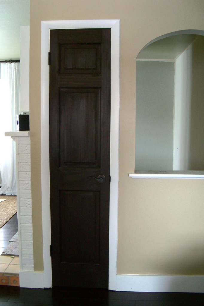 Stain It Black Interior Doors A Home West